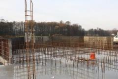 Železobetonová základová konstrukce